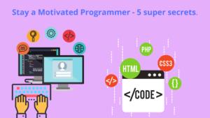 motivated programmer