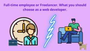 full-time employee or freelancer