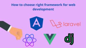 framework for web development